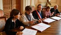 Signature de la convention